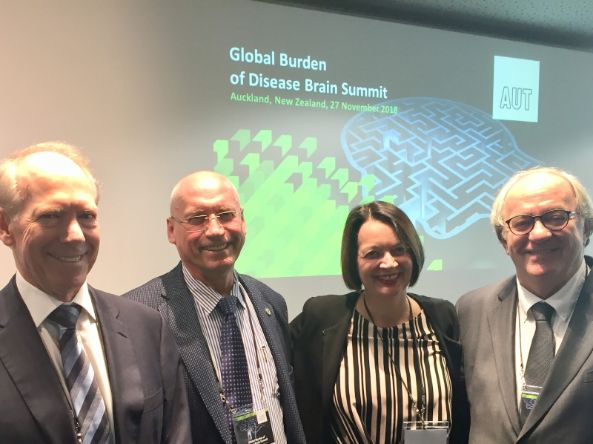Gruppenbild Global Burden of Desease Brain Summit