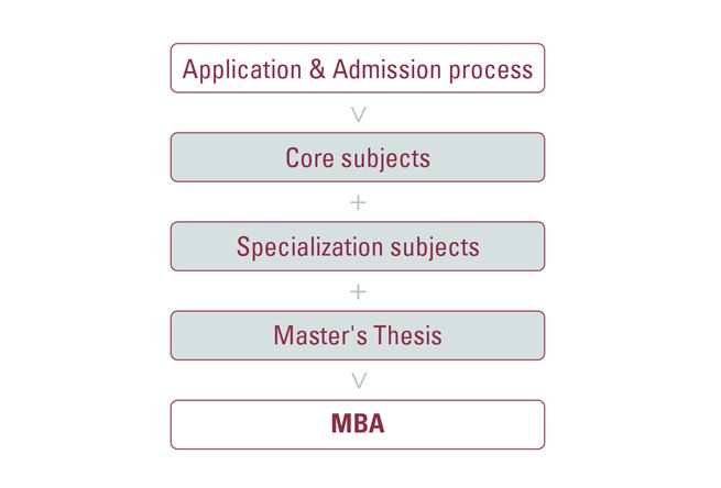 program structure Professional MBA