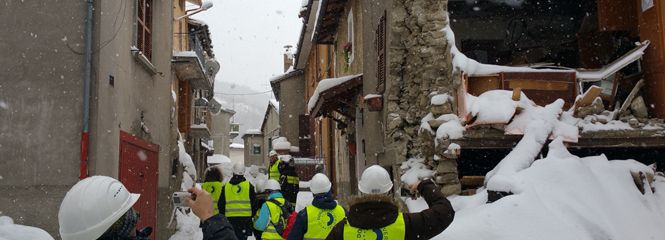 Danube University Krems actively involved in post-earthquake reconstruction in Italy