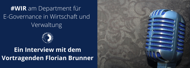 Interview mit dem Vortragenden Florian Brunner