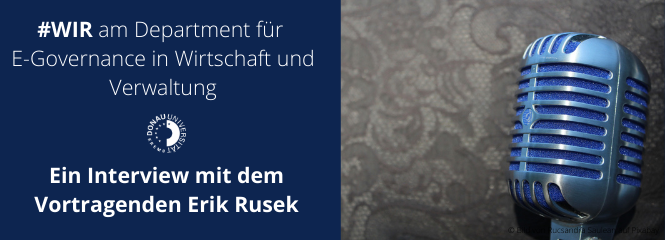Interview mit dem Vortragenden Erik Rusek