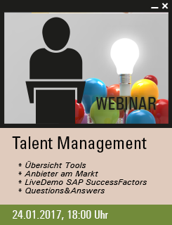 Talentmanagement Webinar