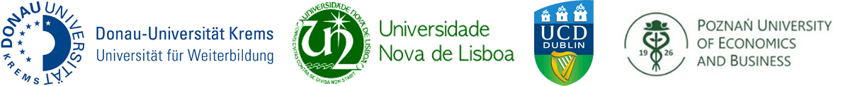 Logos of the participating universities