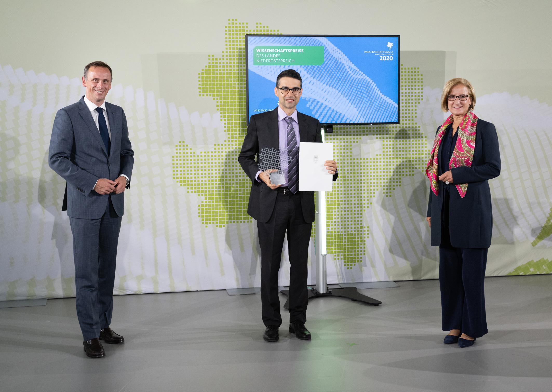 Anerkennungspreis des Landes NÖ für besondere wissenschaftliche Leistungen